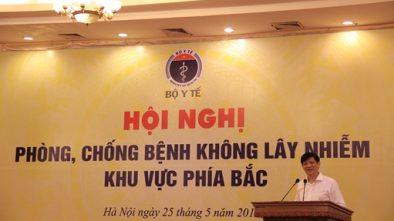 Gs.TS. Nguyễn Thanh Long, Thứ trưởng Bộ Y tế phát biểu tại Hội nghị